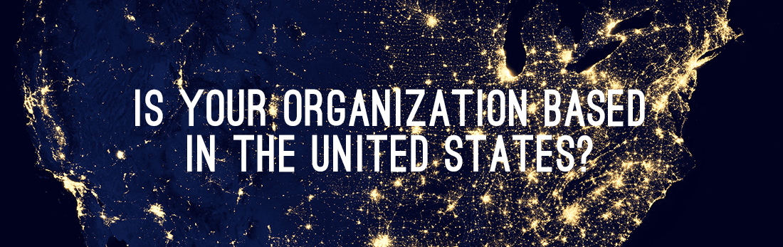 Is Your Organization Based in the US?