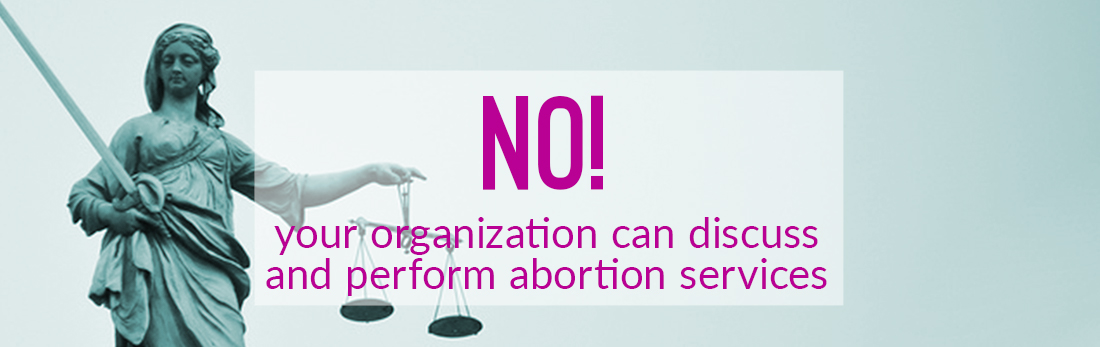 NO! Your funding is not restricted by US abortion policy.